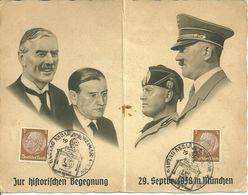 Weimar - HSSt. Gautag NSDAP 4.-6. 1938 - Marcofilia - EMA ( Maquina De Huellas A Franquear)