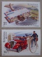 Rumänien     Europa  Cept   Postfahrzeuge     2013 ** - 2013