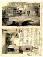 MAILHAC - La Place - Le Pont - Rue De L'église - Clocher - Carte Double - Voir Scans - France