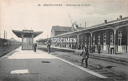 30 Intérieur De La Gare - Erquelinnes - Erquelinnes