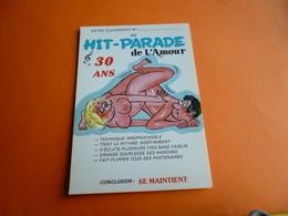 """Hit De L'amour """" 30 Ans """" Se Maintient  ' Couple Nu Femme Seins Nus   ( Neuve ) - Humour"""