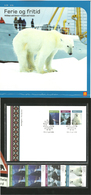 Norway 2005 Holidays And Leisure, Geiranger, Flåm Railway, Svaldbard Polar Bear, Mi 1531-1533  MNH And FDC In Folder - Briefe U. Dokumente