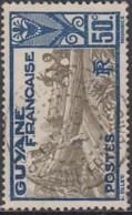 Guyane Française 1922-1947 - St-Laurent Du Maroni Sur N° 120 (YT) N° 120 (AM). Oblitération. - Französisch-Guayana (1886-1949)