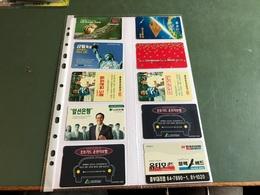 South Korea - 10 Different Phonecards - Corea Del Sur