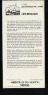 Fiche Illustrée NESTLE Les Merveilles Du Monde N°  163 LES REQUINS - Nestlé