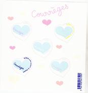 France  5024 5026  5029 F  Coeurs De Courrèges Neuf TB ** MNH Sin Charnela Prix De La Poste 3.5 - Frankreich