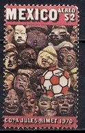 Mexico 1970 - Airmail - Football World Cup - Mexico - Messico
