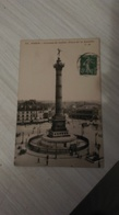 CPA - 45. PARIS Colonne De Juillet - Place De La Bastille - France