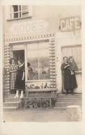 Devanture Magasin Mode Café (Chalonnes 1922 ) - Foto