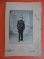 SOLDAT 97 REGIMENT SIGNE LUCIEN PHOTO RODET A CHAMBERY Voir Verso Autre Impression 1914 Dim 14.5 X 10.5 - Guerre, Militaire