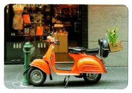 CALENDARIO DE BOLSILLO CALENDAR 2018 MOTO VESPA MOTOCICLETA MOTORCYCLE PRECIOSA ITALIA ITALY VER FOTO/S Y DESCRIPCIÓN - Calendarios