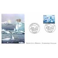 FDC LNF - La Protection Des Pôles (4350) - Oblit Mâcon 28/3/09 - FDC