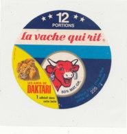 W 810 / ETIQUETTE  FROMAGE - LA VACHE QUI RIT   DAKARI  12 PORTIONS - Cheese