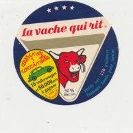 W 812 / ETIQUETTE  FROMAGE - LA VACHE QUI RIT   DESSINEZ 1 COCCINELLE - Cheese
