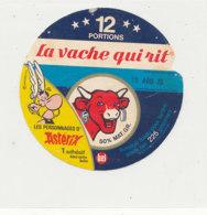 W 824 / ETIQUETTE  FROMAGE - LA VACHE QUI RIT   - ASTERIX     12 PORTIONS - Fromage