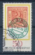 BRD Mi. 981 Gest. Tag Der Briefmarke 1978 Marke Sachsen - Tag Der Briefmarke