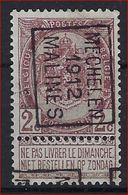 Rijkswapen Nr. 55 Voorafgestempeld Nr. 1794 Positie B   MECHELEN 1912 MALINES  ; Staat Zie Scan ! Inzet Aan 15 Euro ! - Precancels