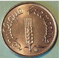SPLENDIDE 1 CENTIME 1978 GROS REBORD NEUVE NON CIRCULEE - A. 1 Centime