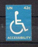 NATIONS UNIES - UNITED NATIONS - 2008 - ACCESSIBILITY - WHEEL CHAIR - FAUTEUIL POUR HANDICAPE - Used / Utilisé - - New-York - Siège De L'ONU