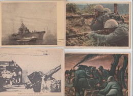 Lotto 10 Cartoline Militari - Postcards