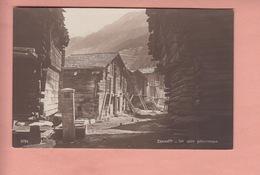 OLD POSTCARD - SWITZERLAND - SCHWEIZ - SUISSE - ZERMATT - ED. PERROCHET - VS Valais