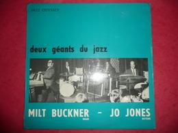 LP33 N°1017 - MILT BUCKNER & JO JONES - DEUX GEANTS DU JAZZ - COMPILATION 9 TITRES - Jazz