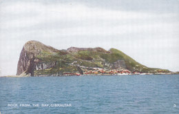 Gibraltar PPC Rock From The Bay 'Rex' Tobacconist, 224, Main Street (Unused) (2 Scans) - Gibraltar