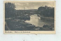 Saarbrücken Ou Sarrebruck (Allemagne, Sarre) : Blick Von Der Luisenbrücke Mit Lastkähne Im Hafen En 1945 (lebendig PF. - Saarbruecken