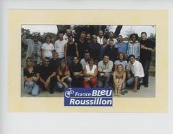 Radio France Bleu Roussillon : Narach Arnal.... (cp Vierge) - Radio