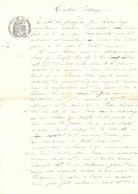 Vieux Papier Du Béarn, Aast, 1901, Lassus-Bayet échange Des Terres Avec Jean Frescq - Historische Documenten