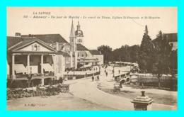 A793 / 017 74 - ANNECY Un Jour De Marché Canal De Thiou - Annecy