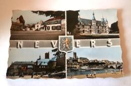 NEVERS MULTIVUES - VUE GENERALE PALAIS DUCAL PORTE DU CROUX PLACE DU MARCHE - Nevers