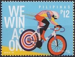 2019 PHILIPPINES  30th SEA Games ** MNH Vélo Cycliste Cyclisme Bicycle Cycling Fahrrad Radfahrer Bicicleta Ciclis [ef51] - Ciclismo