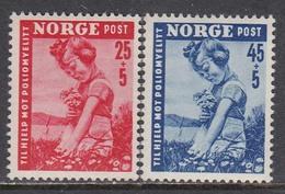 Norway 1950 - Child Welfare, Mi-Nr. 351/52, MNH** - Norway
