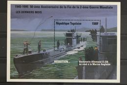 Togo, Schiffe, MiNr. Block 378, Postfrisch / MNH - Togo (1960-...)