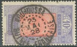 Guinée Française 1912-1944 - Kouroussa Sur N° 86 (YT) N° 98 (AM). Oblitération De 1928. - Oblitérés