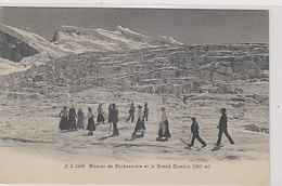 Glacier De Corbassière - Oblit. Datée Cabane De Chanrion - 1908           (00110) - Alpinismo