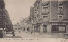 Poissy : Rue De Paris Et Place De La République - Poissy