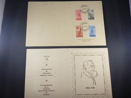 "BELG.1948 781/784 FDC Carte Souvenir :  "" Edouard Anseele "" - ....-1951"