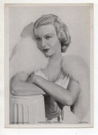 C3309/ Schauspielerin Madeleine Carroll  Ross Bild 18 X 13 Cm Ca.1935 - Artisti