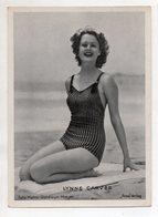 C3308/ Schauspielerin Lynne Carver Ross Bild 18 X 13 Cm Ca.1935 - Artisti