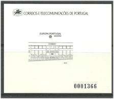 Portugal Madeira 1990 Europa: Postal Facilities, Mi 133. MNH(**)   Blackprint - Madeira