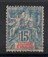 ANJOUAN - YT N° 6 - Neuf * - MH - Cote: 17,50 € - Anjouan (1892-1912)