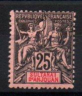 ANJOUAN - YT N° 8 - Neuf * - MH - Cote: 17,50 € - Anjouan (1892-1912)