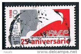 Mexico 1998 - UPAEP 25 Anniversary - Used - México