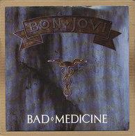 "7"" Single, Bon Jovi - Bad Medicine - Rock"
