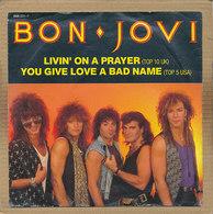 """7"""" Single, Bon Jovi - Livin On A Prayer - Rock"""