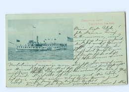 U2160/ Thousand Islands New York  Steamer Dampfer New York AK 1900 - Stati Uniti