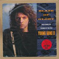 "7"" Single, Jon Bon Jovi - Blaze Of Glory - Rock"