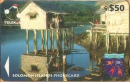 Solomon Island - SOL-20, GPT, 04SIE, Boys House, Adagege, 50 SI$, 1997, Used - Islas Salomon